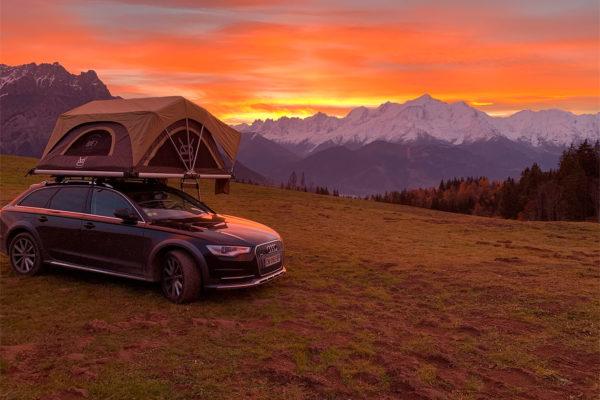 BXF.1 tente de toit vacances |V8 Equipment