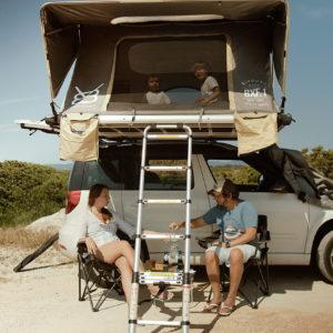 BXF.1 tente de toit pour 4 personnes |V8 Equipment